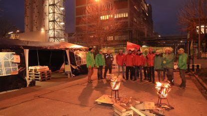 Weinig activiteit in Waaslandhaven door nationale staking