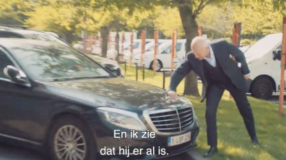 """Geert Hoste kiest Johan Vande Lanotte: """"Ik zie dat hij hier al geparkeerd staat"""""""
