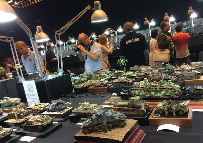 De modelbouwbeurs in Veldhoven