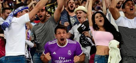 Duizenden fans Real vieren zege Champions League