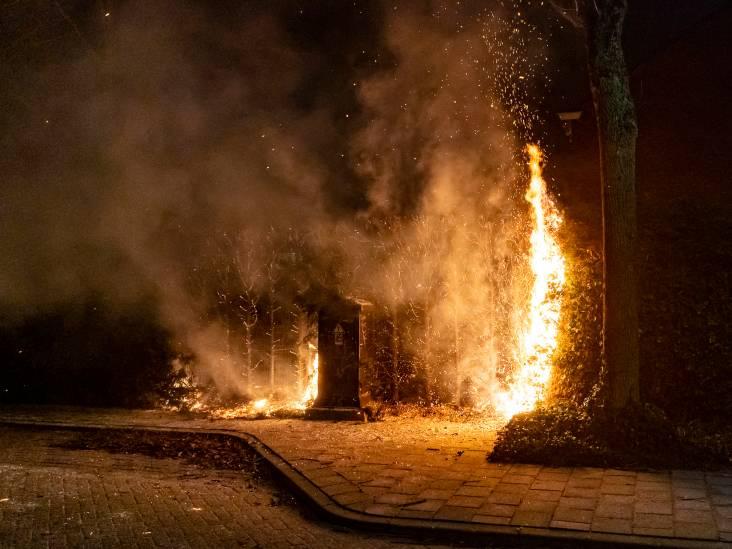 7 branden in 2 weken: politie doet onderzoek naar aangestoken coniferen en auto in Oosterhout