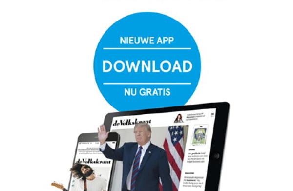 Download hier de volledig vernieuwde Volkskrant app