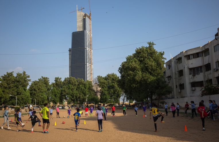 Diya Women's Football club in Karachi, Pakistan. Beeld Asim Hafeez