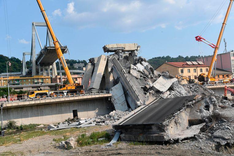 Bij de instorting van de Morandibrug kwamen 43 mensen om het leven.