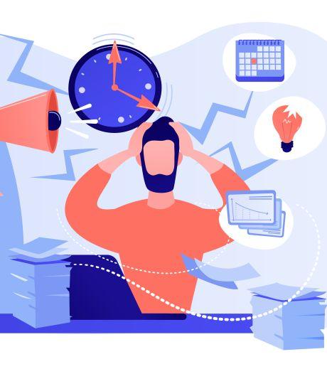 Zo ga je op het werk om met stressvolle situaties