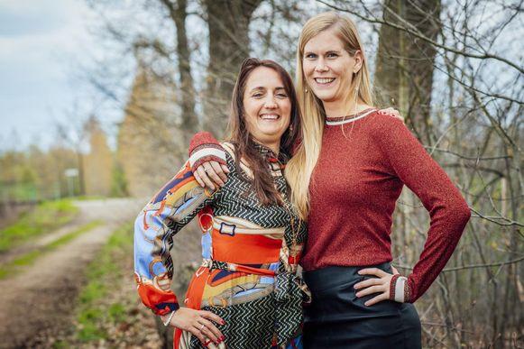 Kristel en haar assistente Els