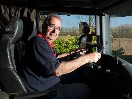 Vrachtwagenchauffeur 'komt het virus echt niet verspreiden'
