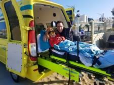 Ambulancewens 6-jarig meisje maakt diepe indruk