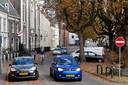 Auto's in de Amersfoortse binnenstad