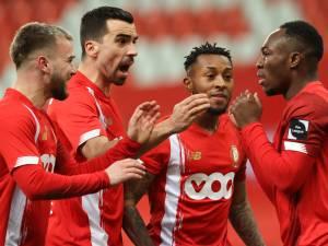 Le Standard s'adjuge un derby wallon à rebondissements et intègre le top 4
