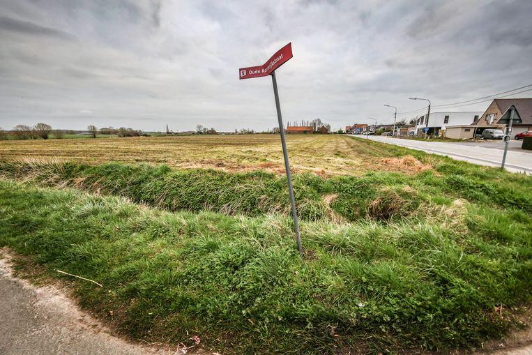 In de Oude Kortrijkstraat wordt een kruispunt vernieuwd