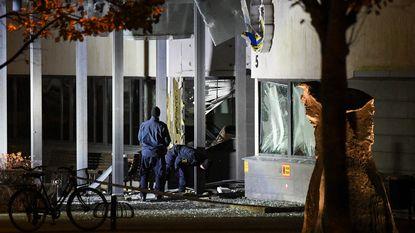 Enorme explosie in politiebureau Helsingborg