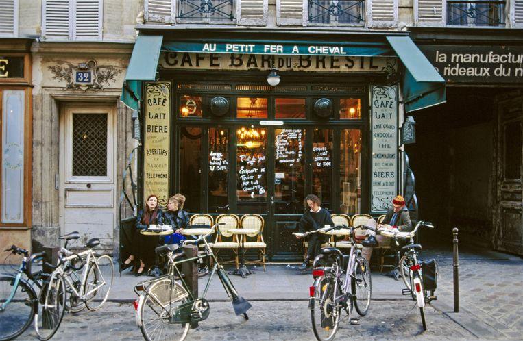 'Parijs is de enige stad waar ik tot rust kom.' Beeld Imageselect
