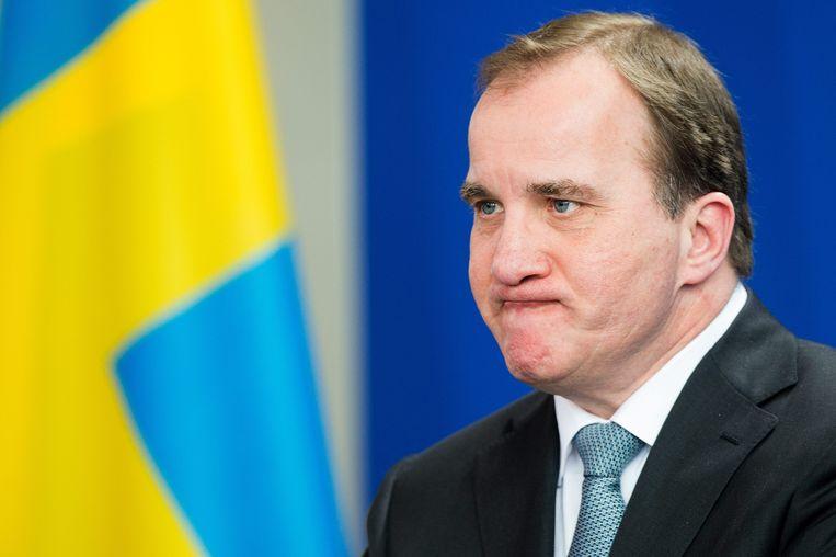Stefan Löfven Beeld EPA