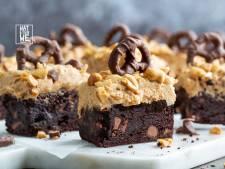 Wat Eten We Vandaag: Peanutbutter brownies