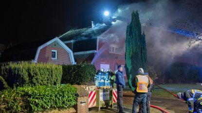 Villa schiet in brand door slechte isolatie
