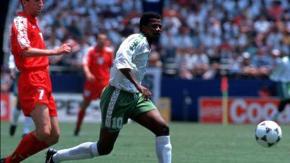 """""""Hij had nooit zo ver mogen komen"""": Arabier scoorde op WK in 1994 tegen Belgen enige doelpunt, nadien ging het snel van de hemel naar de hel"""