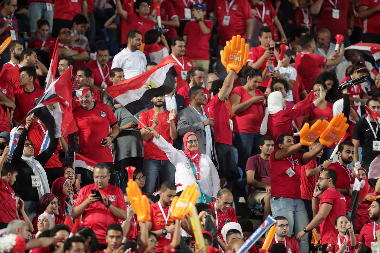 75.000 Egyptenaren bezochten woensdag de wedstrijd tegen Congo.