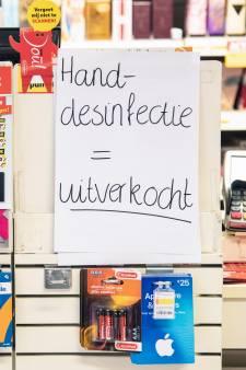 Desinfecterende handgel wordt in heel Nijmegen gehamsterd: 'Wel driehonderd vragen per dag'