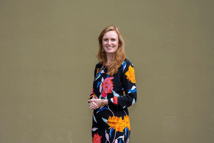 Sarah Heijse, directeur van het Airborne Museum: 'Ik heb heus een leven buiten het museum'.