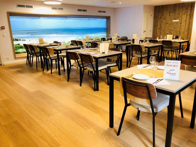 In het nieuwe restaurant is plaats voor 160 mensen