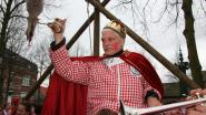 Peter Brusten is koning gansrijden bij Veteranen Zandvliet