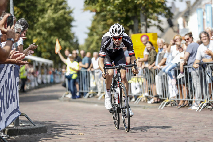 Tom Dumoulin in de profwielerronde van Etten-Leur.