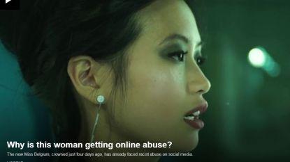 """Ook BBC ontdekt onze Miss België: """"Waarom wordt deze vrouw online beschimpt?"""""""