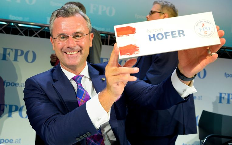 Norbert Hofer. Beeld AFP