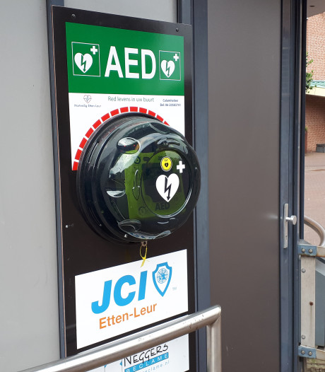 Hard op weg naar volledig dekkend harthulp-netwerk in Etten-Leur en Moerdijk