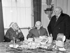 Bertje Larmit werd honderd in 1955. Wie mocht er op zijn feestje komen?