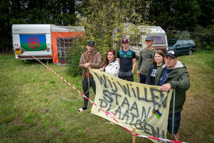 De familie Gerrits uit Elst strijdt voor een eigen plek.