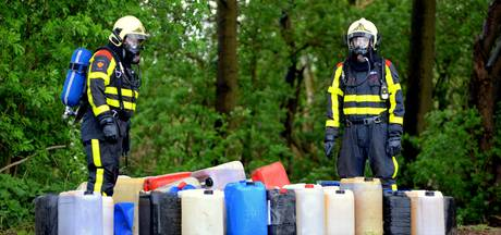 Vaker drugsafval gedumpt, vooral in Brabant en Limburg