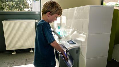 Nieuwe toiletten voor basisschool Cade