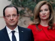 François Hollande au chevet de Valérie Trierweiler