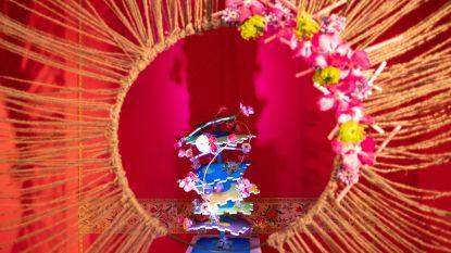 Fleurs des Dames palmt opnieuw kasteel d'Ursel in – Ook Bornemse bloemenkunstenaar Sören Van Laer neemt deel.