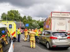 A16 bij Drechttunnel weer vrij na ongeluk