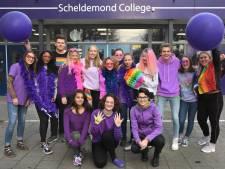 Paarse Vrijdag op het Scheldemond College: iedereen mag zichzelf zijn