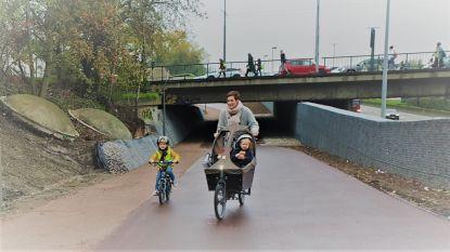 Ringfietspad onder Stenenbrug geopend