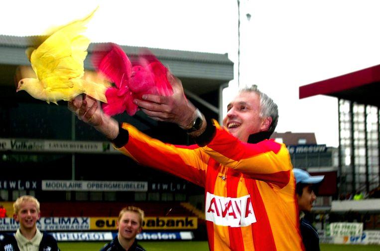 Mark Uytterhoeven zorgde er mee voor dat KV Mechelen zijn stamnummer 25 kon behouden.