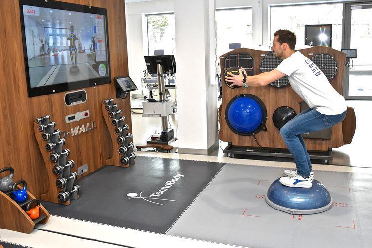Sport'R beschikt over de allerlaatste snufjes op vlak van sportmedische technologie. Inclusief drukmatten met camera's met bewegingsdetectie.
