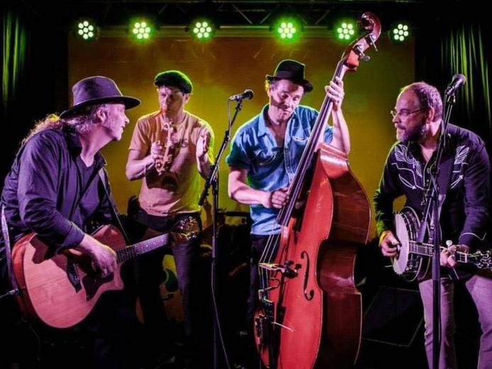 De Feliciano's uit Helmond spelen country, americana en rock 'n roll. Foto: Josanne Fotografie