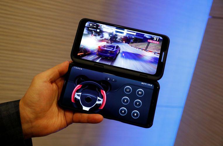 LG V50 met Dual Screen.