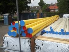 Omwonenden verrast door bouwdepot op Catharinaplein in Schijndel