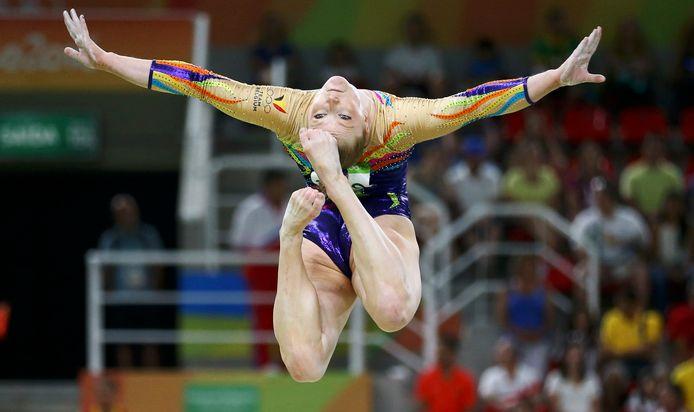 Gaëlle Mys tijdens de Spelen in Rio, in 2016.
