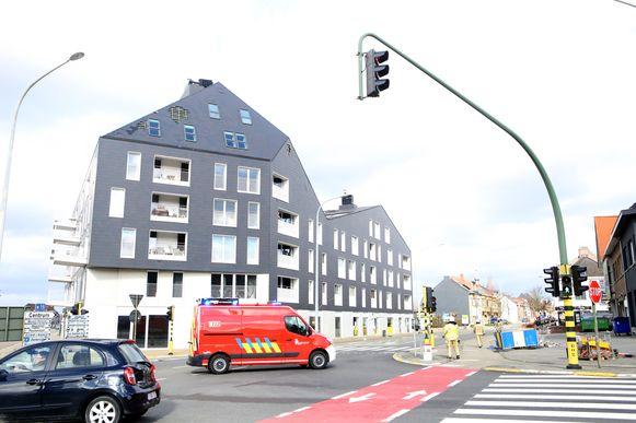 AARSCHOT-stormschade Leuvensestraat