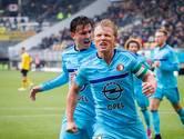 Koploper Feyenoord pas in tweede helft voorbij stug Roda
