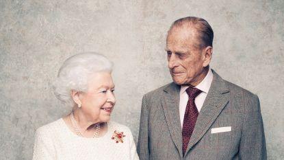 Elizabeth en Philip vieren 70ste huwelijksverjaardag