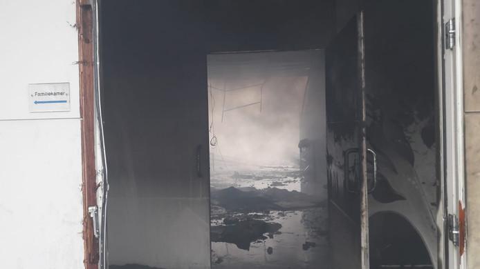 Moeder Teresakerk in Hengelo na de brand