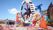 CARNAVAL HALLE: Opstelling Carnavalfoor volop aan de gang: Zaterdag openen de kermisattracties